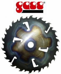 GASS 400x50х3,0х18+4 очистителя пропила