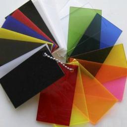 Оргстекло прозрачное и цветное