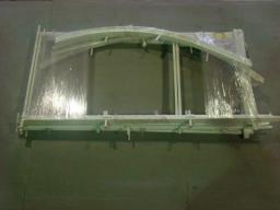 Каркас разборный труба 20х20 мм, размеры вставка 2 м