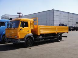 Бортовой КамАЗ-4308-6067-28 удлиненный