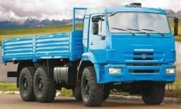 Бортовой КамАЗ-5350-6015-42 (аналог а/м КамАЗ-43114) (6х6, г/п 7,32 тонны)