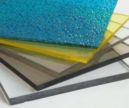 Монолитный поликарбонат 2 мм, прозрачный и цветной