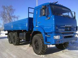 Бортовой КамАЗ-43118-6022-46 (6х6, г/п 11,22 тонны, двиг. 300 л.с., Евро-4)