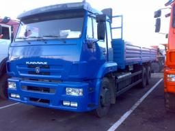 Бортовой КамАЗ-65117-6052-23 (Двигатель Камминз, 300 л.с., Евро-4)