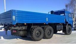 Бортовой с тентом КамАЗ-43118-6013-46 (6х6, г/п 11,22 тонны, двигатель Евро-4)