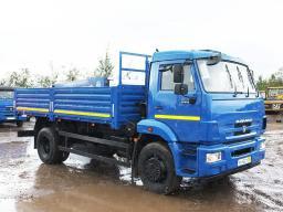 КамАЗ-43253-6010-28 бортовой с двигателем Камминз (245 л.с.)