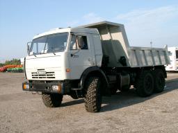 Самосвал КамАЗ-45141 с двигателем Евро-3 (6х6, г/п 14 тонн, V кузова = 6,6 куб.м.)