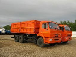 Самосвал КамАЗ-45144-6051-23 (6х4, г/п 14 тонн, V кузова = 17 куб.м., Евро-4)