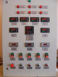 Комплект автоматики котла ДЕ-16-14 ГМ (ПЛК110)