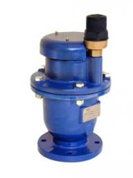 Автоматический комбинированный воздушный клапан (вантуз) AV-702-NS DN100 PN25