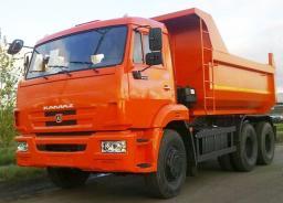 Самосвал КамАЗ-65115-6056-23 (6х4, двиг. 300 л.с., Евро-4, г/п 15 тонн)