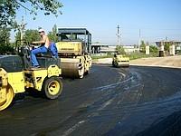 Асфальтирование дорог и благоустройство