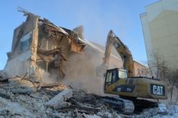 Демонтаж зданий и сооружений в Новосибирске
