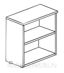 Шкаф 2 секции 61(62)41