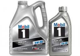 Моторное масло Mobil 1 Peak Life 5W50