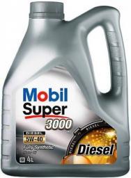 Моторное масло Mobil Super 3000 5W40 Diesel