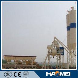 Бетонный завод, двухвальный смеситель, HZS25