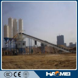 Бетонный завод, двухвальный смеситель, HZS60