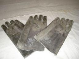Перчатки из просвинцованной резины компл. из 3-х штук