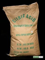 Лимонная кислота ГОСТ 908-2004 в мешках по 25 кг