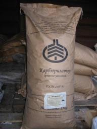 Карбюризатор древесноугольный ГОСТ 2407-83 в мешках по 15 кг