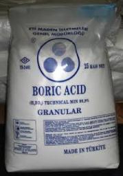 Борная кислота техническая марки Б ГОСТ 18704-78 в мешках по 40 кг