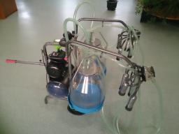 Доильное оборудование для одновременной дойки 2-х коров