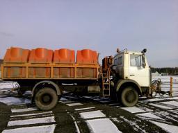 Продается поливомоечная комбинированная дорожная машина МКДС-3410 на шасси МАЗ-5337А2, 2008 год выпуска. Пробег 60 000 км.