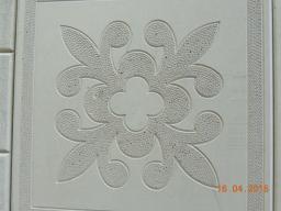 Цветок серая