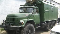 Передвижная ремонтная мастерская МРИВ на базе ЗИЛ 131 с кунгом