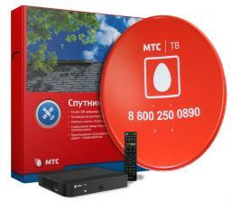 МТС спутниковое телевидение в Нижнекамске, Набережных челнах и Заинске.