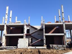 Монтаж железобетонных конструкций.