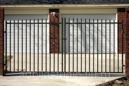 Забор из стального прутка 12 мм