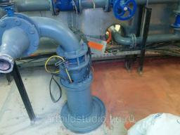 Ремонт промышленного полимерного напольного покрытия пола