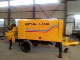 Новый бетононасос HBTS40-13-75,8R дизельный