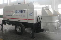 Новый бетононасос HBTS60-13-130R дизельный