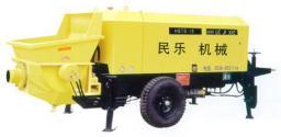 Новый китайский бетононасос HBTS 15 электрический