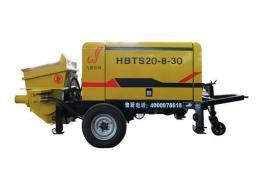 Новый бетононасос HBTS20-8-30 электрический