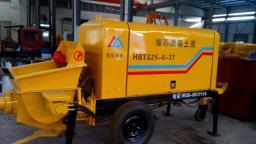 Новый бетононасос HBTS25-8-37 электрический