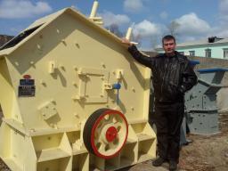Новая роторная дробилка PF1007 на складе Благовещенск