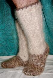 Купить шерстяные носки .Купить носки из собачьей шерсти.Гольфы шерстяные.