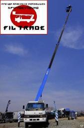Аренда автовышки Mitsubishi Canter (Мицубиси Кантер) до 24 метров