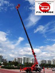Услуги автовышек (мехруки, автогидроподъемников, АГП) от 12 до 45 метров