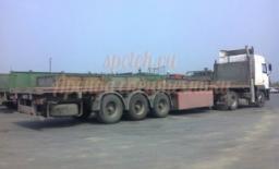 Длинномер МАЗ с полуприцепом 12 м