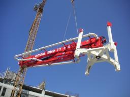 Гидравлическая бетонораздаточная стрела BOOM BHD 17+3 б/у 2012