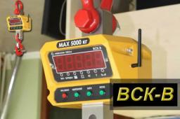 Весы крановые ВСК-В (ВД) от 600 кг до 30 т (радиоканал)