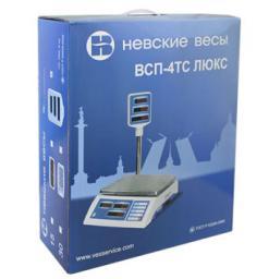 Весы торговые электронные ВСП-4ТC люкс