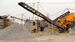 Дробильно-сортировочный комплекс 150 т/ч на входе 700 мм, на выходе 5-20-40 мм Материал Доломит.