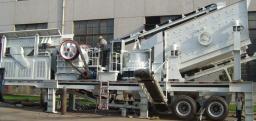 Мобильный дробильно-сортировочный комплекс Y3G9538T69S, производительность 100т/час, находится на границе.
