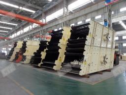 Вибрационный грохот производства КНР.